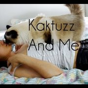 My sacred Birman cat Kaktuzz and Me